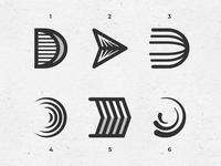 Letter D exploration