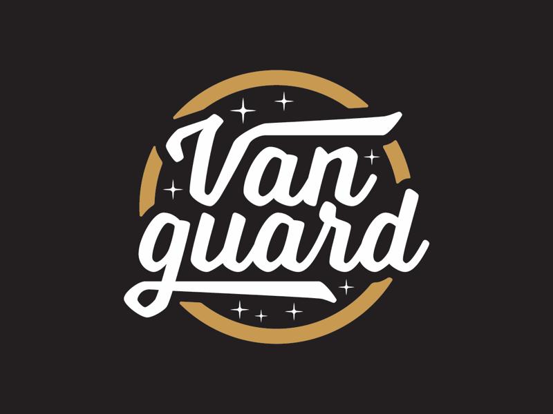 Vanguard Branding vanguard badge logonew typetopia typography type branding logo