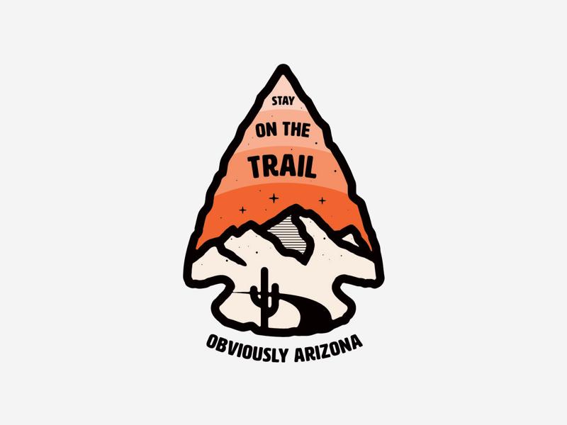 Stay on the Trail patchdesign vanguarddesignco graphicdesigner outdoors nature arizona mountainbadge tshirt clothing clothingdesign badgemerch badgedesigns badge logodesigns logodesign merchdesign merch logo