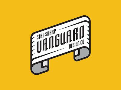 Vanguard Design Co Banner logoconcept logodesigner logodesigns logodesign logotype banner vanguarddesignco badgelogo badgedesign badge branding logobrand logo