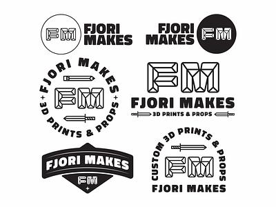 Fjori Makes logoinspirations branddesign customlogo lettering letterlogo lettermark merchdesign vanguarddesignco badgedesign monogram logotype logomark branding brandlogo brandidentity logoconcept logodesigner logodesigns logodesign logo