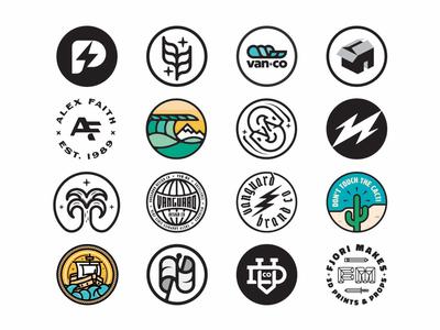 Circle Badges logoinspirations patchlogo patch circle graphicdesigner graphicdesign merchdesigner merchdesign logodesigner vanguarddesignco branddesigner brandidentity branding brandlogo circlebadge badgelogo badgedesign badge logodesign logo