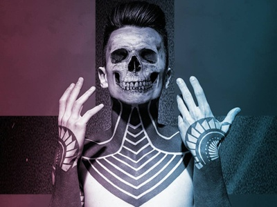 Skull Boi photography photo editing services photo editing photo designer model photoshop art album art photomanipulation manipulation photoshop graphic design. artwork design artist
