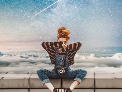 - Sitting On The Edge - free presets adobe lightroom photo art colorful photoshop art photoshop photomanipulation photography photo editing services photo editing photo model manipulation artwork graphic design designer design artist album art