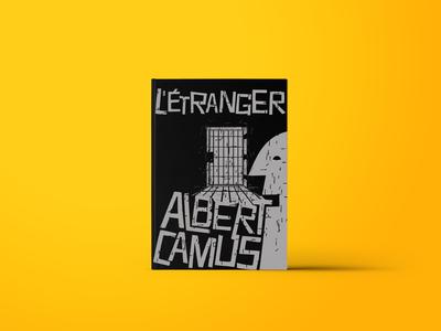 The Stranger Albert Camus Book Cover Design