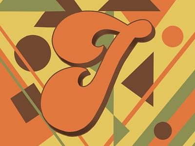 36 Days of Type I 36daysoftype07 36daysoftype 70sdesign 70sscript script lettering hand drawn type graphic designer lettering illustrator typography hand lettering illustration