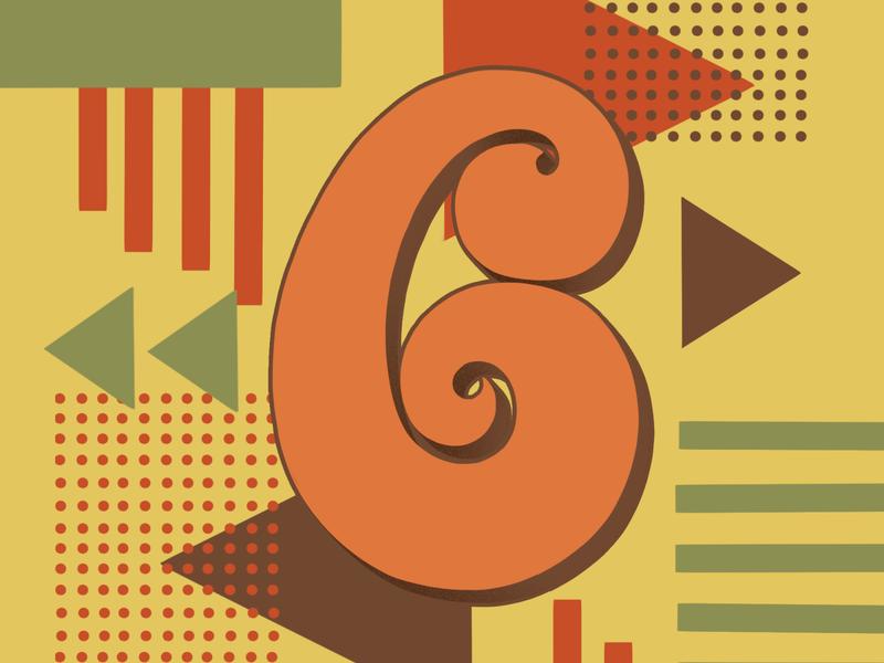 36 Days of Type 6