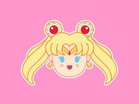Sailor Moon Icon Dribble Shot