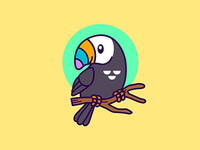 Toucan Illustration Icon