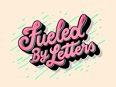 Fueled by letters logo 400 by 400
