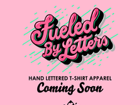 Fueled by letters instagram coming soon