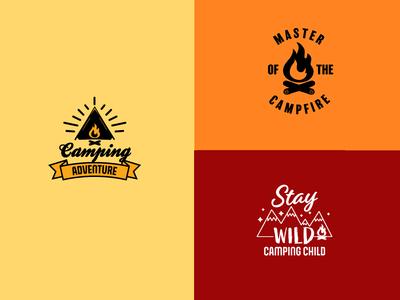 Camping T-shirt Graphics 2