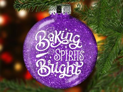 Christmas Glitter Ornament