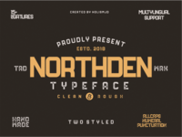 Northden Font | Industrial Font