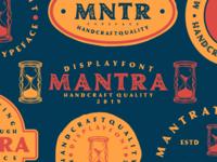 Mantra Vintage Font