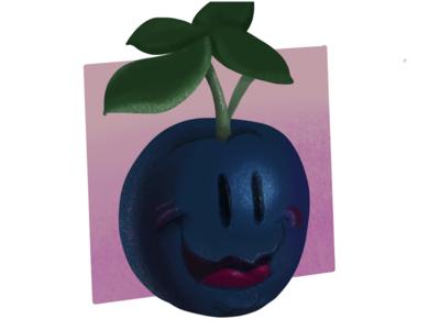 VeggieFails - Not so Blue Berry food blueberry vegetable veggies cartoon illustration funny animation