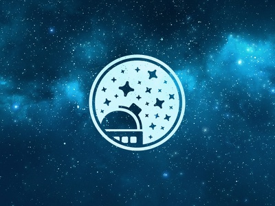 Hungarian Astronomical Association (Concept) observatory sky stars star logo hungarian astronomy association