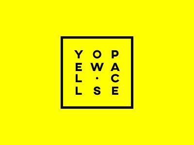 Yellow.Space (Concept) concept hello yellow startup yellow.space yellow space branding logo develop design