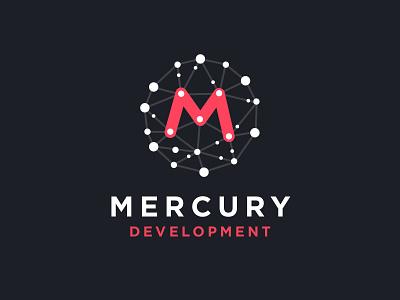 Mercury Development (Concept) challange design playoff challenge branding network planet stars system concept logo development mercury