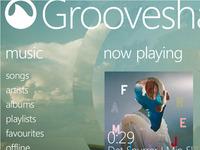 Grooveshark for Windows Phone Concept