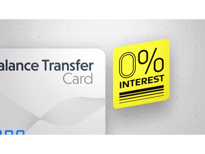 Balance transfer cards financial finance credit card design news tv motion graphics after effects animation