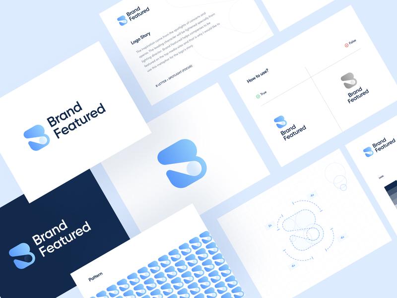 Brand Featured Branding spotlight branding and identity brand design idea logos ui blue branding design logodesign logotype icon vector logo design logo branding typography design