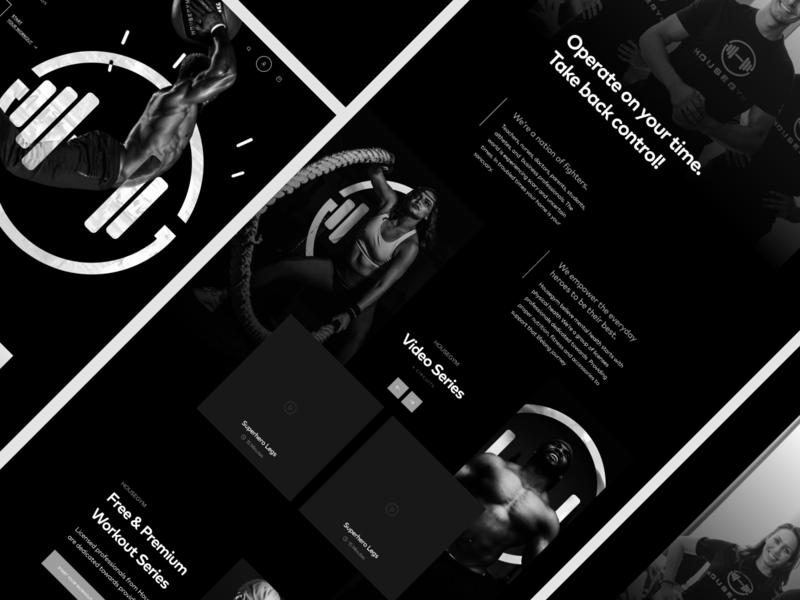 HouseGYM Landing Page website design web design webdesign website gym website sport user inteface user experience landing page design landing page landingpage landing gym web ux ui typography design