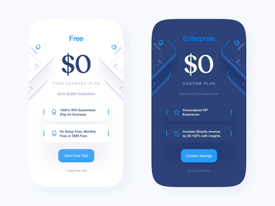 Price Card Animation : BlueReceipt clean design figma package pricing page unique style branding ux ui price dashboard ui dashboad cards ui cards landing page bluereceipt card pricing pricing card typography design