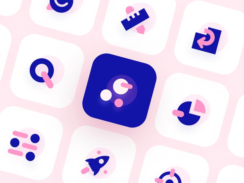 Pink Icon Set icon designer icon packs icon pack search icon smile icon rules icon graph icon enter icon rocket icon icon designs icon set icon design iconography icons icon design