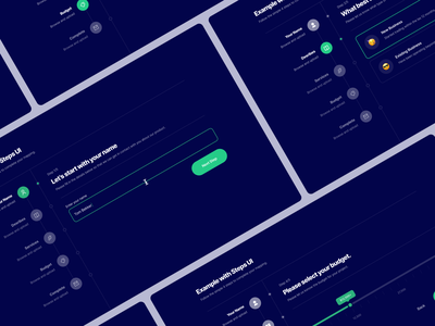 Multi Step Form 03 form design form field forms dark green user experience user interface interface multi form multi step form form input fields input box input field inputs input ui ux typography design