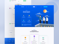 IPTV Landing Page / All Pages by Erşad on Dribbble