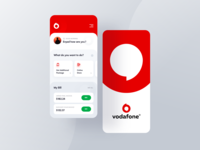 Vodafone Mobil Application / re-design