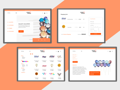 SparkO Sweets | Concept Design