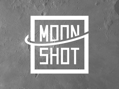 Moonshot Logo logo logotype mark identity illustration