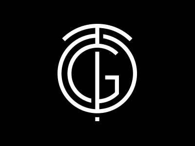Team One Gallery monogram monogram typography logotype