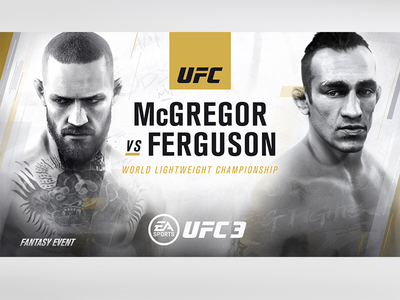 Fantasy Event poster EA|UFC3 illustration graphic design games poster