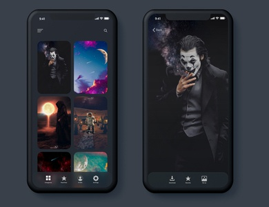 Wallpaper App concept
