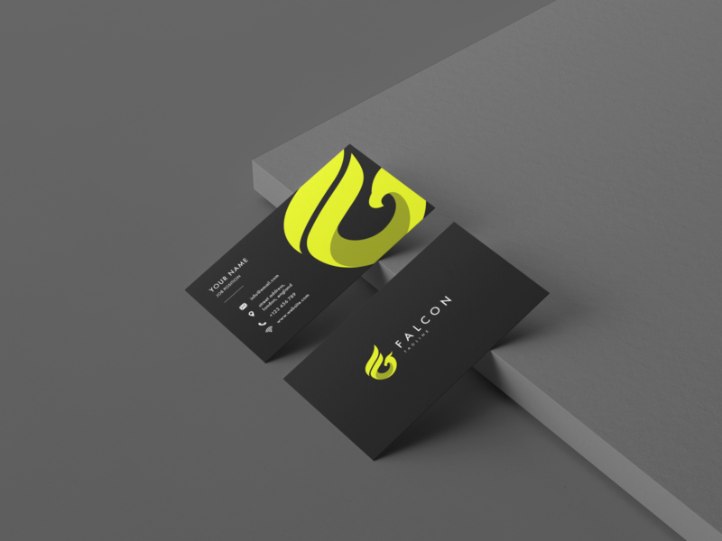 Business Card Design - Falcon Rides