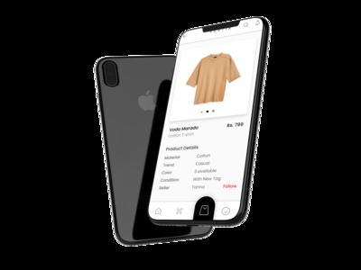 Vestir App Ui Design