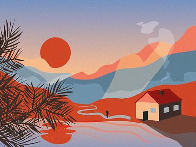 Nomad vector design illo illustration
