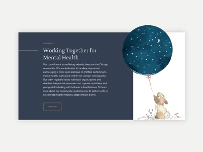 Greywood Health Center Overlapping Elements illustrations