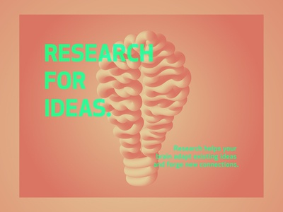 Research For Ideas
