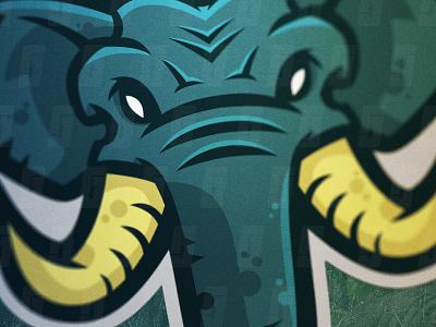 Elephants Mascot Logo - For Sale tusks illustrator logo mascot sport esports elephant