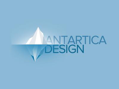 Antartica logo antarctica polygon
