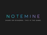 Notemine, logo