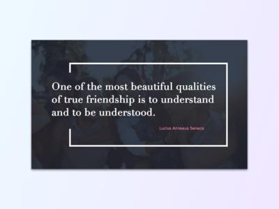 Friendship friendship card quote