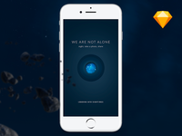 'We are not alone' App - Freebie