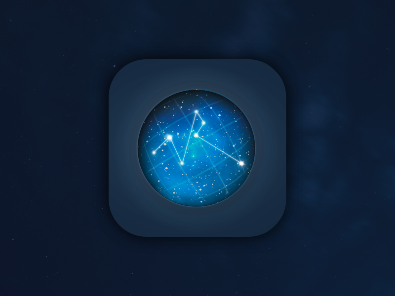 'We are not alone' icon ux uicollections ui ufo space sketch project side ios freebie download app