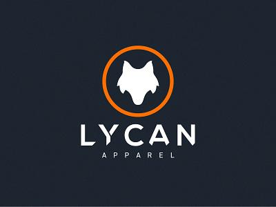 Lycan Apparel logotype logos logo design logodesign drawing lettering typography type logo branding vector illustrator illustration clean art minimal identity icon flat design