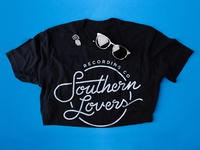 Southern Lovers Recording Co T-shirt & Enamel Pin
